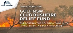 GOLF NSW Bush fire relief